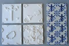 Molde de azulejo de vg para cegos