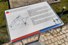 Placa informativa com braille CIBV